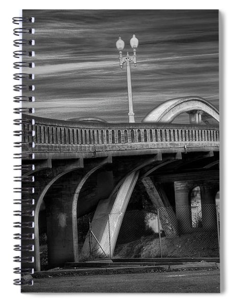 The Crooked Bridge Spiral Notebook