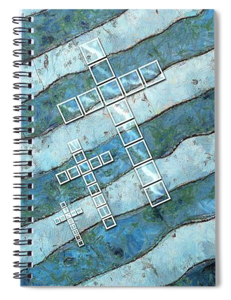 The Cross Speaks Of You Spiral Notebook