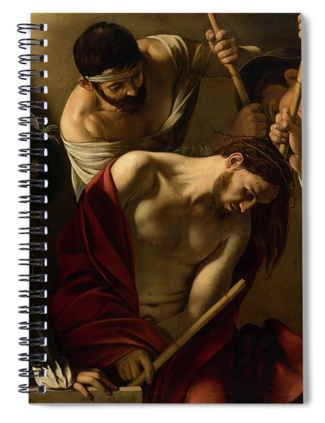 The Crowning With Thorns Spiral Notebook