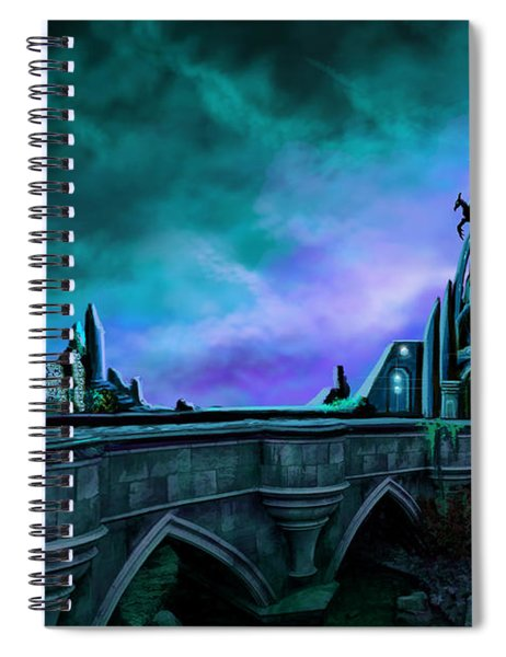 The Crystal Palace - Nightwish Spiral Notebook