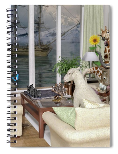 The Curious Room Spiral Notebook