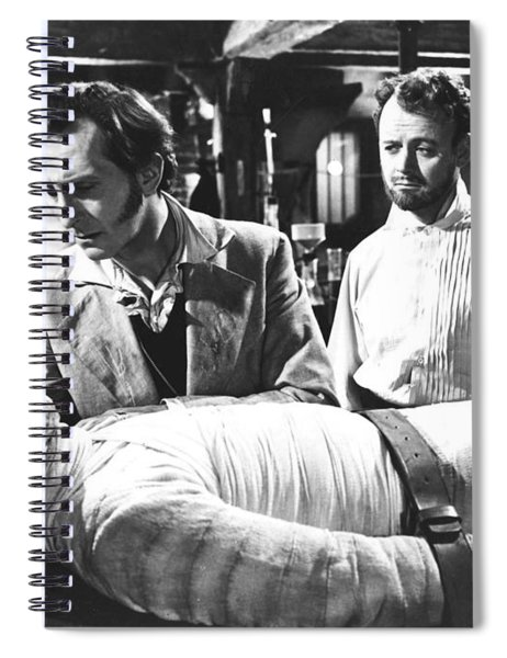 The Curse Of Frankenstein 1957 Baron Victor Frankenstein Spiral Notebook