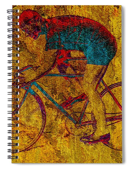 The Cyclist Spiral Notebook