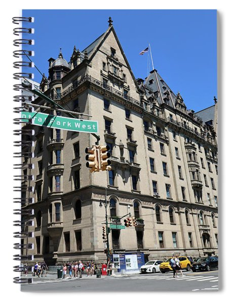 The Dakota Apartments- One West 72nd Street At Cpw Built 1884 Spiral Notebook