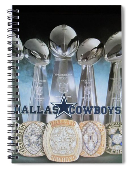 The Dallas Cowboys Championship Hardware Spiral Notebook