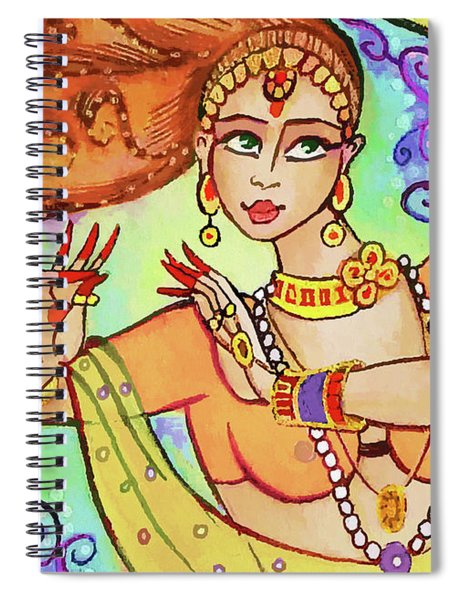 The Dance Of Maya Spiral Notebook