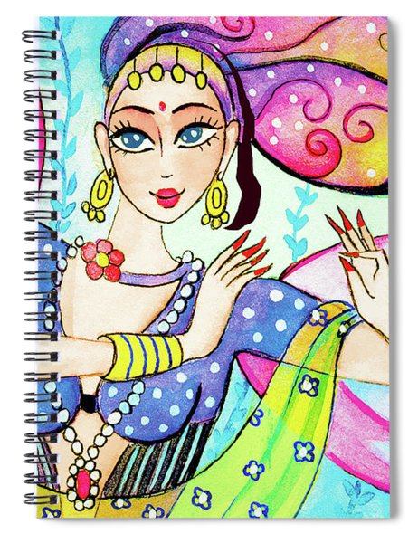 The Dance Of Pari Spiral Notebook