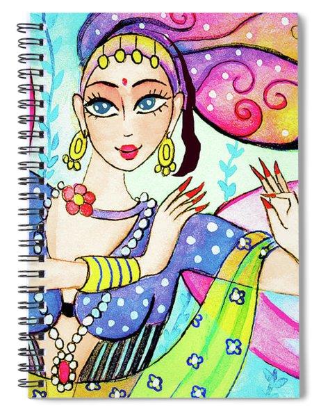 The Dance Of Pari Spiral Notebook