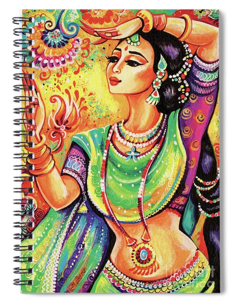 The Dance Of Tara Spiral Notebook