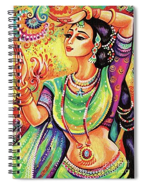 The Dance Of Tara Spiral Notebook