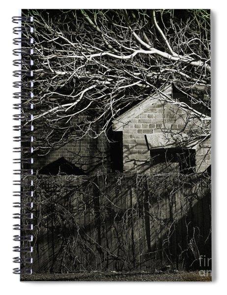 The Dark Night Spiral Notebook