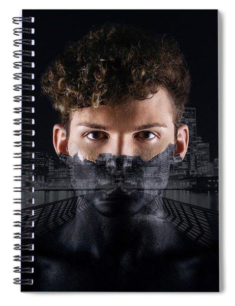The Dark Side Of A City Boy Spiral Notebook