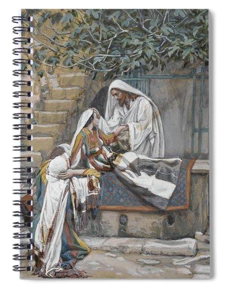 The Daughter Of Jairus Spiral Notebook