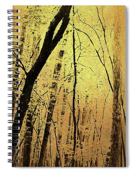 The Dawn Of The Trees Spiral Notebook