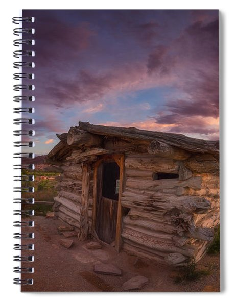 The Delicate Little Cabin Spiral Notebook