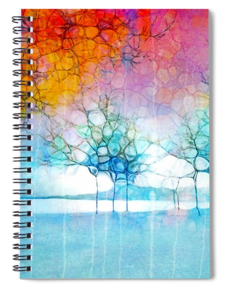 The Departing Trees Spiral Notebook