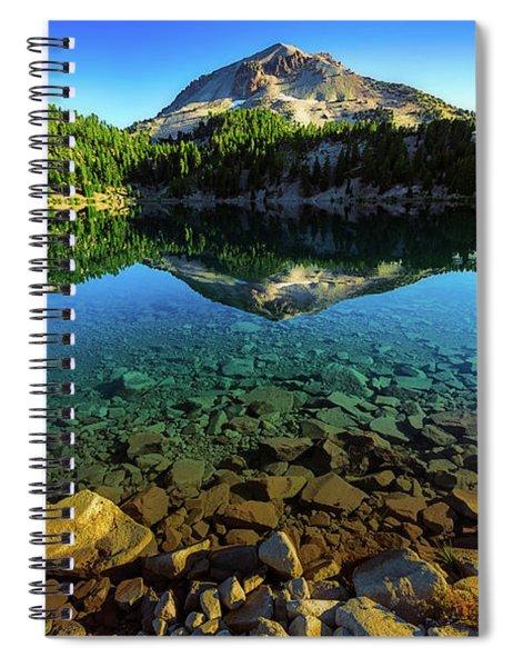 The Depths Of Lake Helen Spiral Notebook