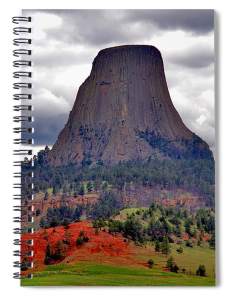 The Devils Tower Wy Spiral Notebook
