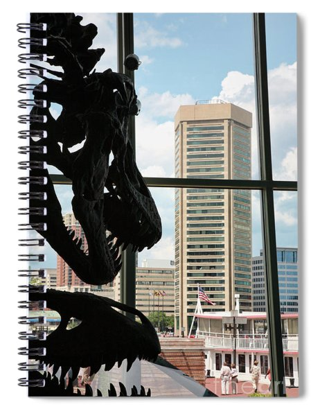 The Dinosaurs That Ate Baltimore Spiral Notebook