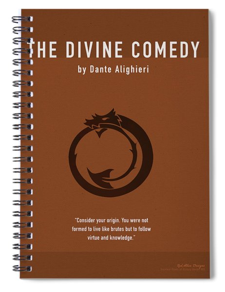 The Divine Comedy Greatest Books Ever Series 005 Spiral Notebook