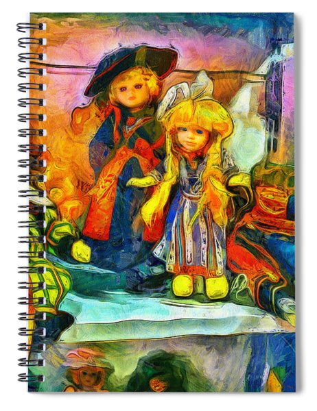 The Dolls Spiral Notebook
