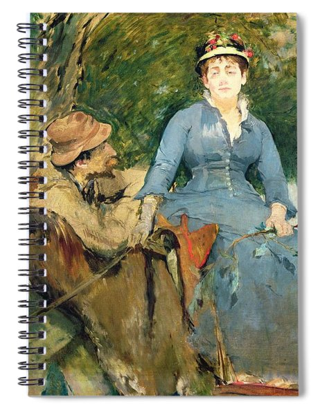 The Donkey Ride Spiral Notebook