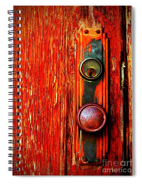The Door Handle  Spiral Notebook