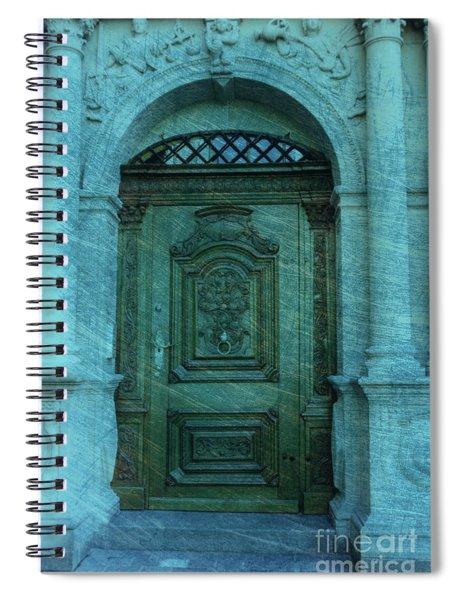 The Door To The Secret Spiral Notebook