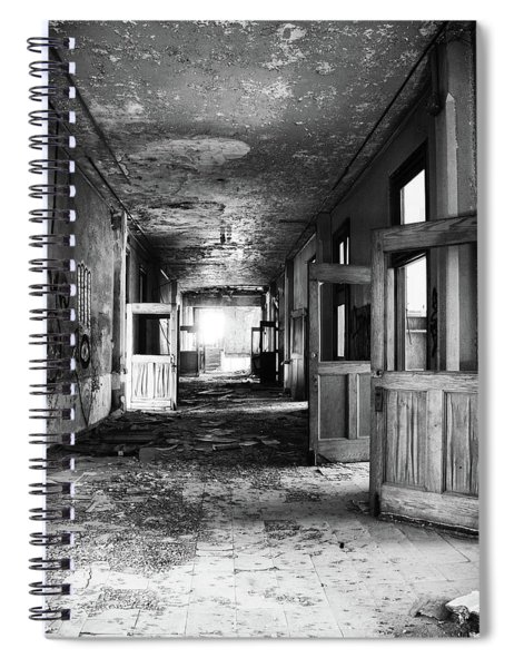The Doors Are Open Spiral Notebook