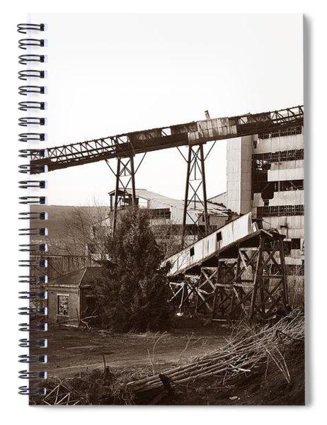The Dorrance Coal Breaker Wilkes Barre Pennsylvania 1983 Spiral Notebook