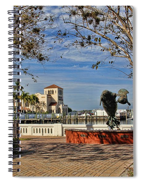 The Downtown Bradenton Waterfront Spiral Notebook