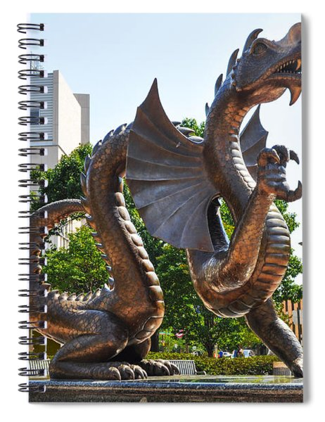 The Dragon - Drexel University Spiral Notebook