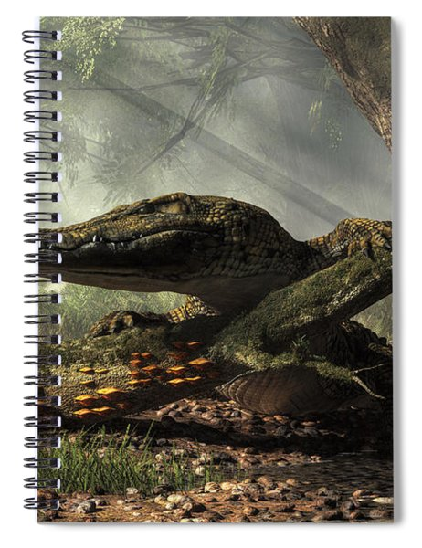 The Dragon Of Brno Spiral Notebook