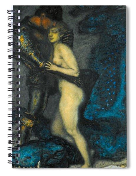 The Dragon Slayer Spiral Notebook
