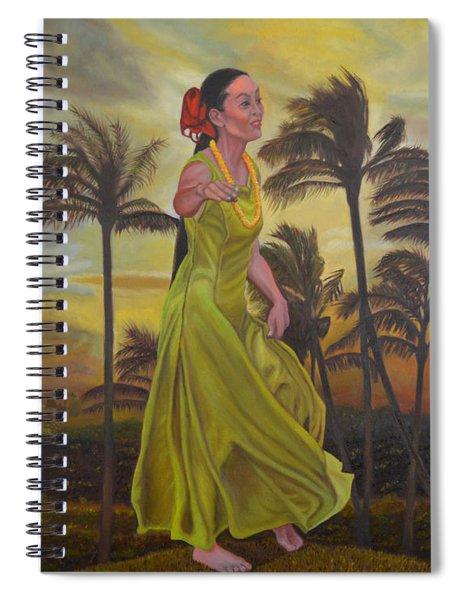 The Green Dress Spiral Notebook