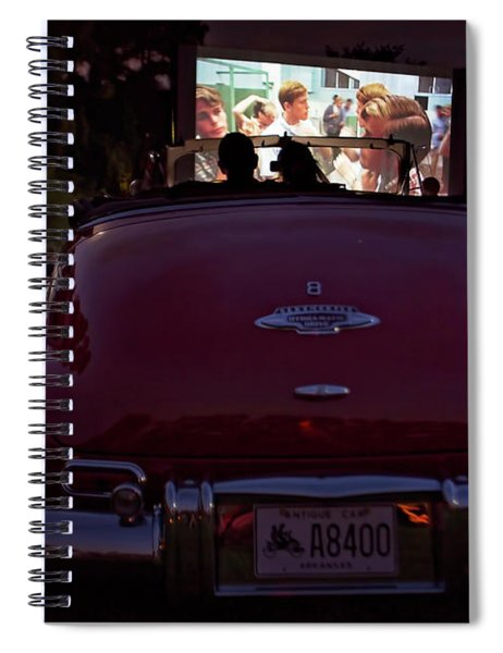 The Drive- In Spiral Notebook