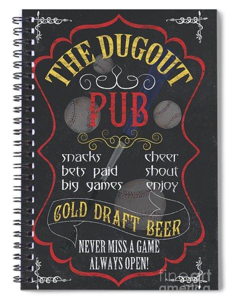 The Dugout Pub Spiral Notebook