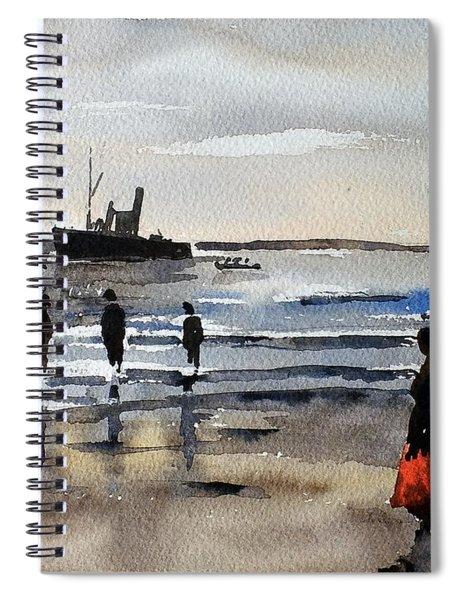 The Dun Aengus Off Aran, Galway Spiral Notebook