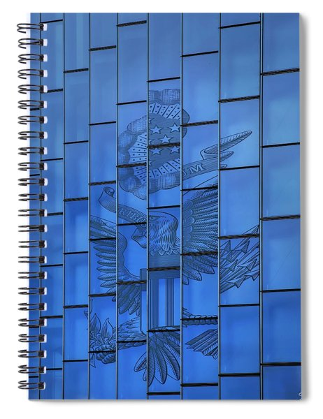 The Eagle On The Window Spiral Notebook