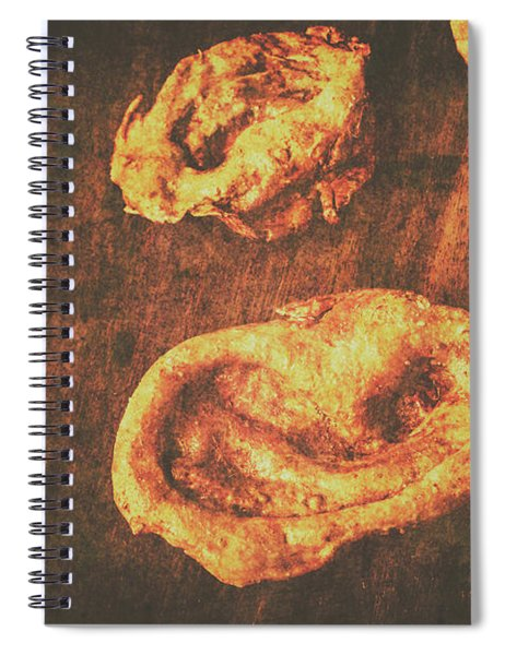 The Ear Collector Spiral Notebook