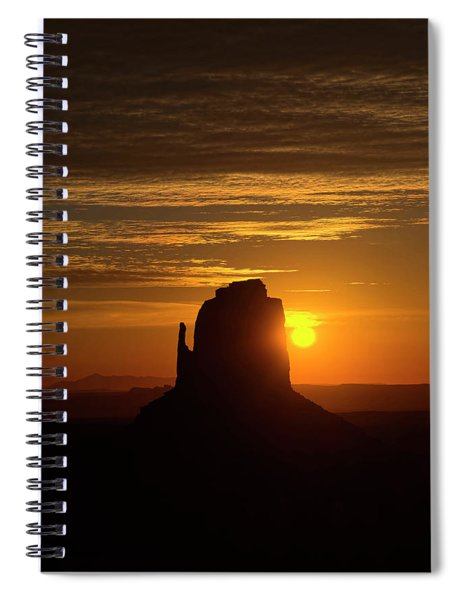 The Earth Awakes Spiral Notebook