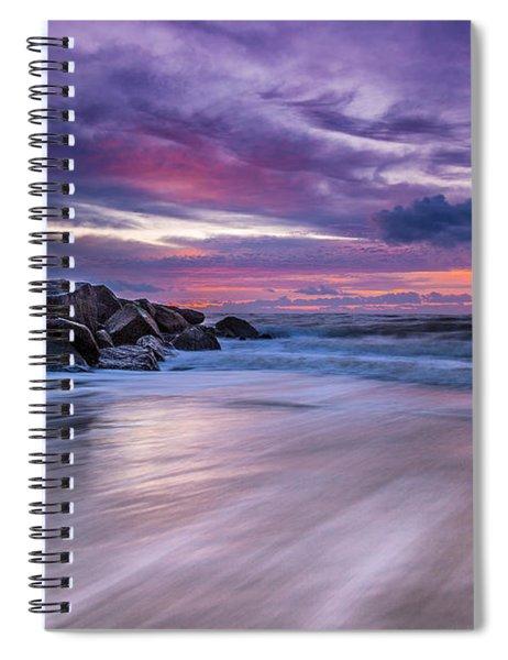 The Edge - Folly Beach, Sc Spiral Notebook