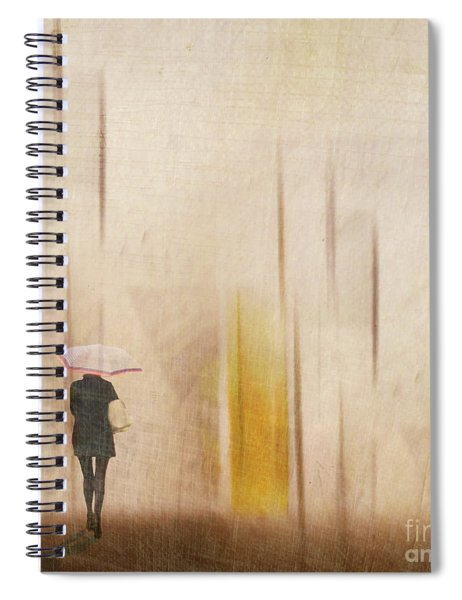 The Edge Of Autumn Spiral Notebook