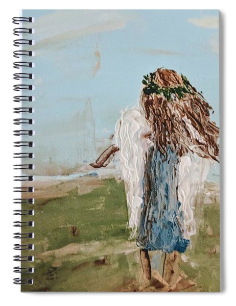 The Edge Of The Field Spiral Notebook