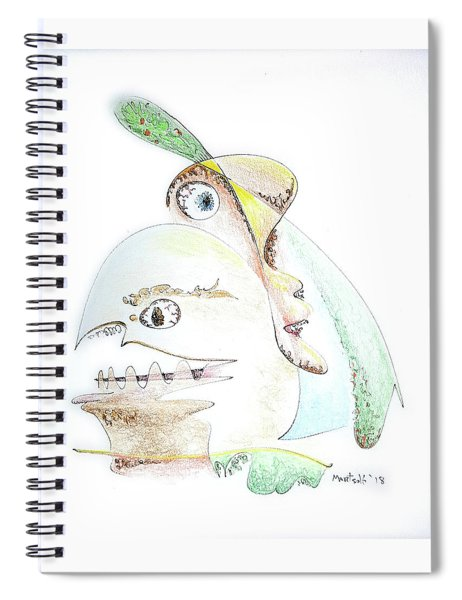 The Egg And I Spiral Notebook