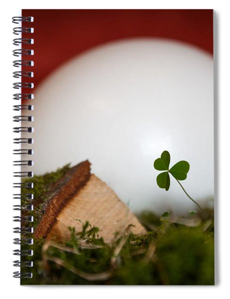 the egg - Happy Easter Spiral Notebook