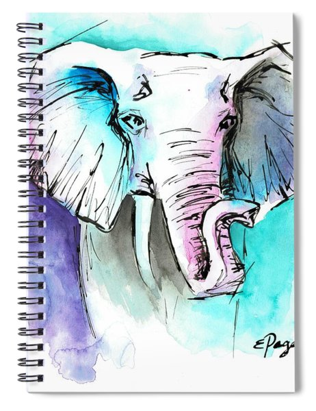 The Elephant King Spiral Notebook