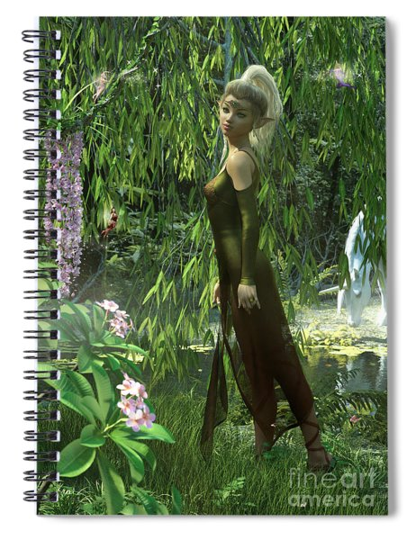 The Elven Realm Spiral Notebook