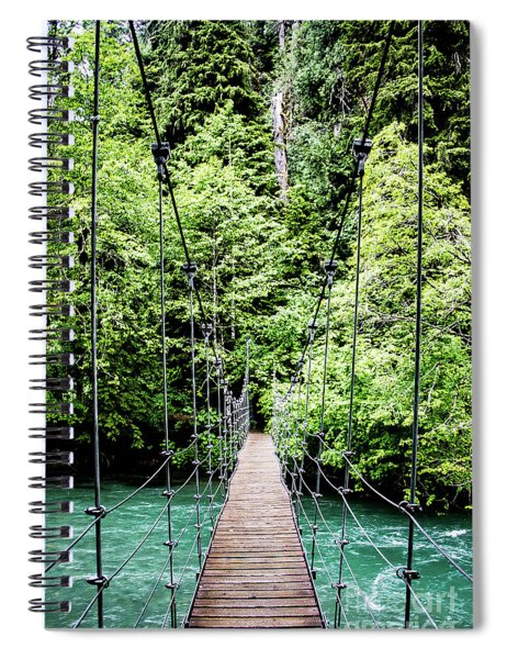 The Emerald Crossing Spiral Notebook