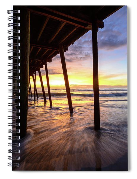The Enchanted Pier Spiral Notebook
